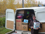 Friends of Russian Orphans FORO Donating Truckloads of Supplies to Russian Orphanages